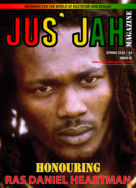 Jus' Jah Magazine Cover Page Spring 2020